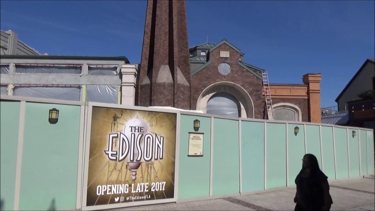 Disney Springs April 2017 ~ Walt Disney World ~ Rumors ~ Cirque Du Soliel ~ The Edison
