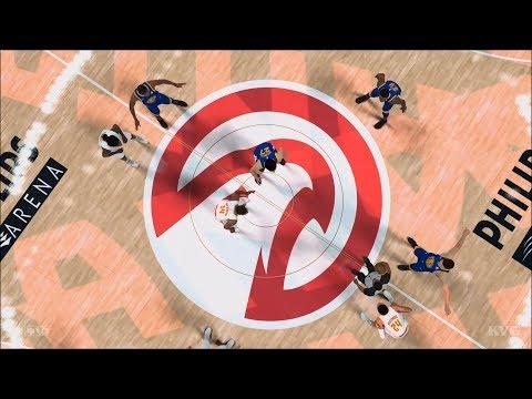 NBA 2K18 - Atlanta Hawks vs Golden State Warriors - Gameplay (PS4 HD) [1080p60FPS]