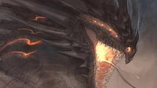 Python Dragon Sketch-Time Lapse