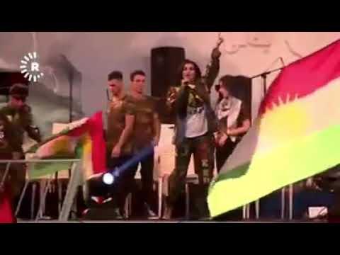 Kürt Şarkıcı Helly Luv Hewlêr'i Salladı:)