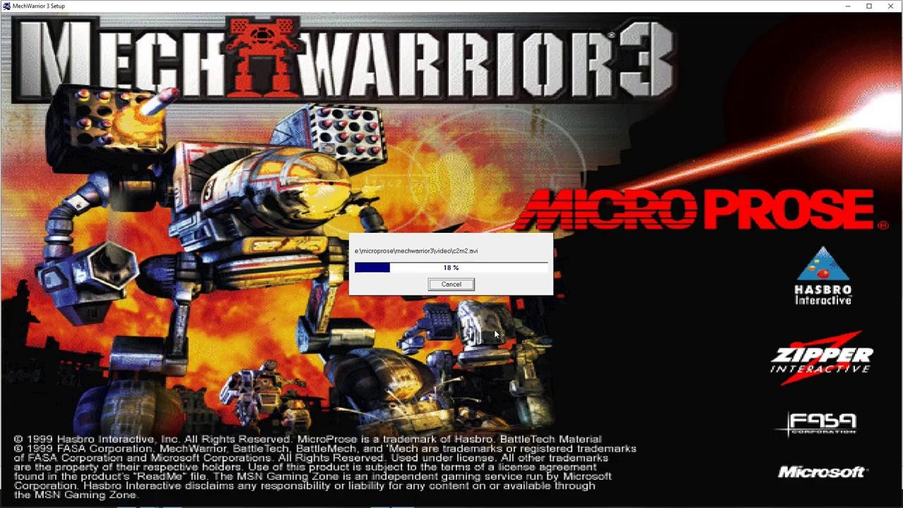 How to play mechwarrior 3 on windows 10