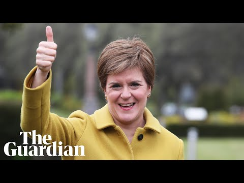 Sturgeon promises Scottish independence referendum in the next two years, Covid permitting