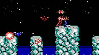 """[TAS] NES Contra """"pacifist"""" by Mars608 & aiqiyou in 08:49.56"""