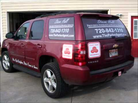 Farm Insurance signs, vehicle graphics, printing and design from Red