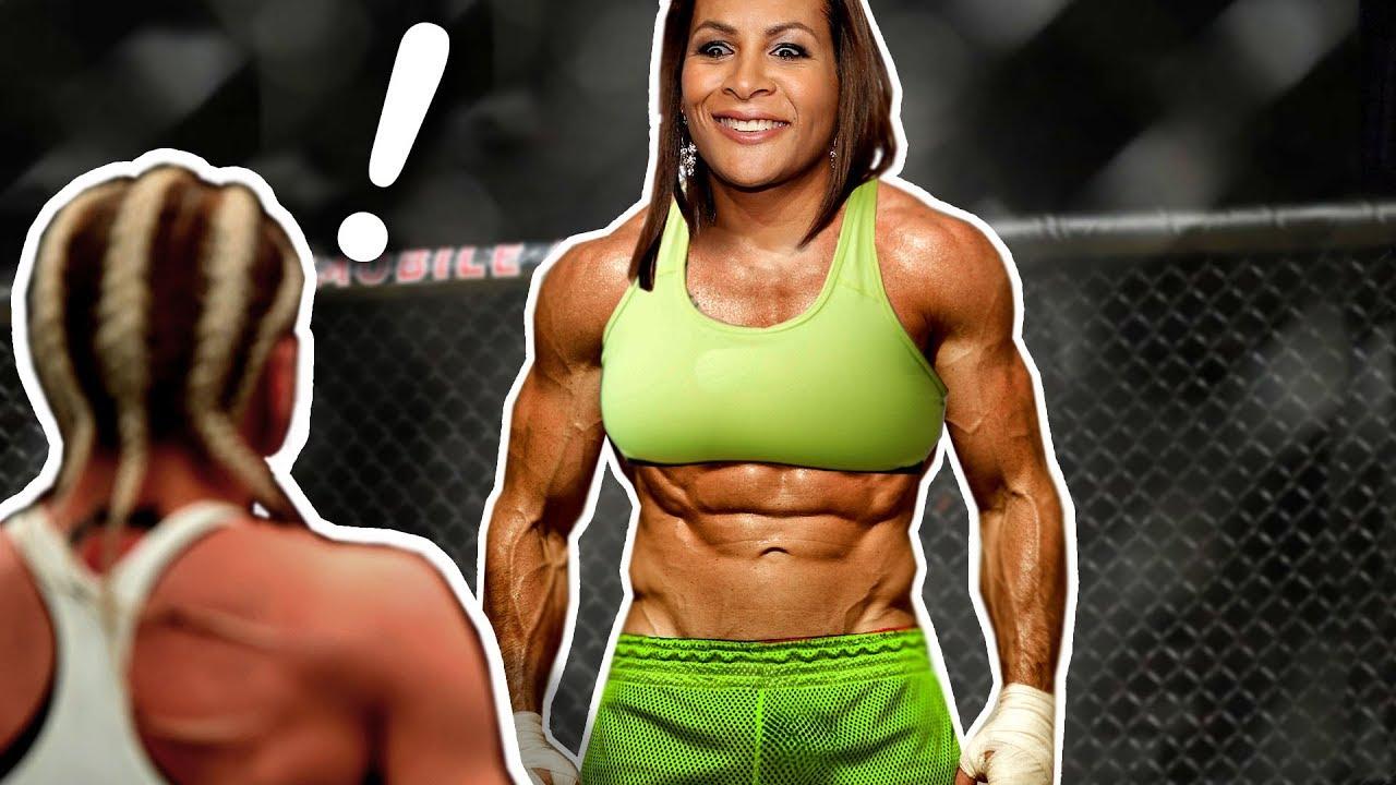 Male Trans MMA Fighter Beat Up Women