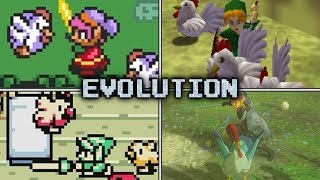 Evolution of Cuccos & Revenge Squads in Zelda games (1991 - 2017)