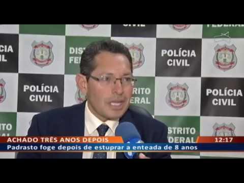 DF ALERTA - Padrasto foge depois de estuprar a enteada de 8 anos