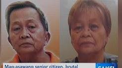 Saksi: Mag-asawang senior citizen, brutal na pinatay nang dahil lang daw sa mangga