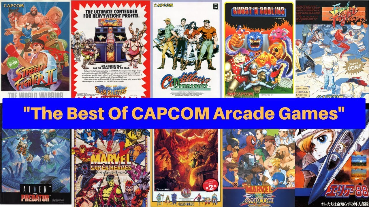 c7f528e1a7a47 Capcom Arcade Games - The Best Of 1985 to 2000 - YouTube