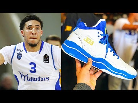 LiAngelo Ball Signature Shoe Revealed! Big Baller Brand Unveils LiAngelo Ball's G3 Signature Shoes