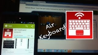 Air Keyboard : App for Android & IOS