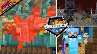 Truly Bedrock [9] Collecting Wither Skulls & Guardian XP Farm