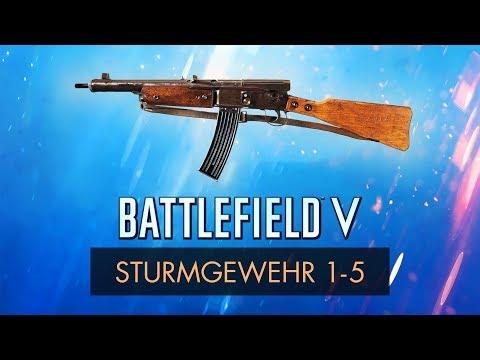 Battlefield 5: STURMGEWEHR 1-5 REVIEW ~ BFV Weapon Guide thumbnail
