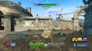 Захват мини сада - Растения против Зомби: Садовая война