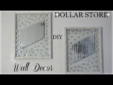 DOLLAR STORE DIY | ZGALLERIE INSPIRED WALL DECOR | DIY BLING ROOM DECOR 2018 | PETALISBLESS