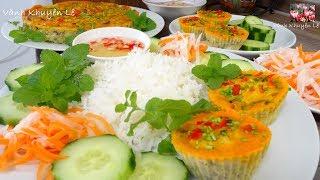 CHẢ TRỨNG - Cách làm món Chả Trứng hấp Cơm Tấm thật nhanh và đơn giản by Vanh Khuyen