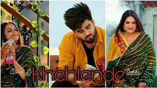 KAKA'S   Keh Len De (HD) Full Screen Whatsapp Status   Inder Chahal & Himanshi Khurana LyricsVideo