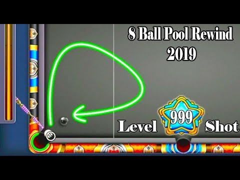 8 Ball Pool Rewind 2019 - Level 999 Shots - Best, Funny, and Insane Moment