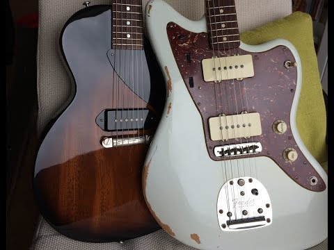 Pickup Comparison: Fender Jazzmaster vs Gibson P90
