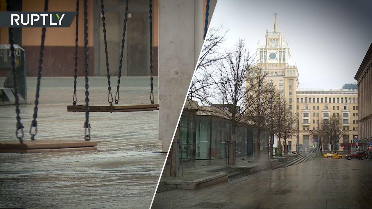 Самоизоляция в Москве: как выглядит столица после введения ограничений из-за коронавируса | день 9
