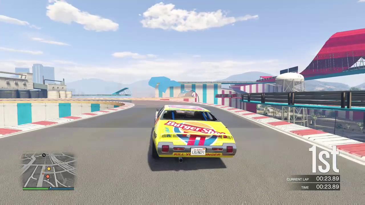 Gta V Race Car Flips Youtube