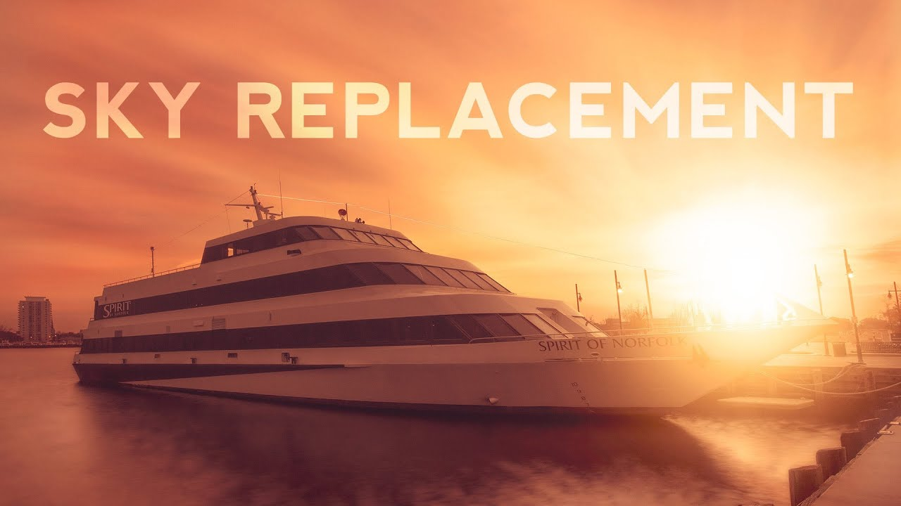 Sky Replacement - Photoshop CS6 Tutorial