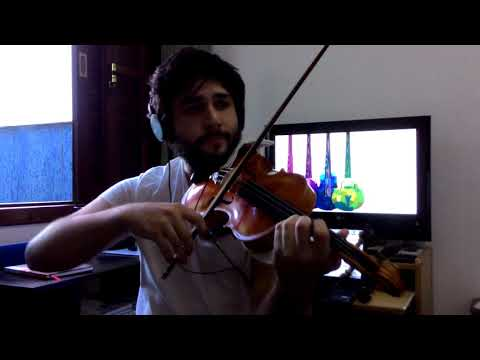 Nando Reis - Pra Você Guardei O Amor (Violin Cover By Miguel Lázaro)