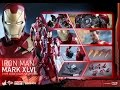 HOT TOYS - IRON MAN MARK XLVI 46 - CAPTAIN AMERICA CIVIL WAR - MMS 353 D16 - FRENCH REVIEW FRANCAISE