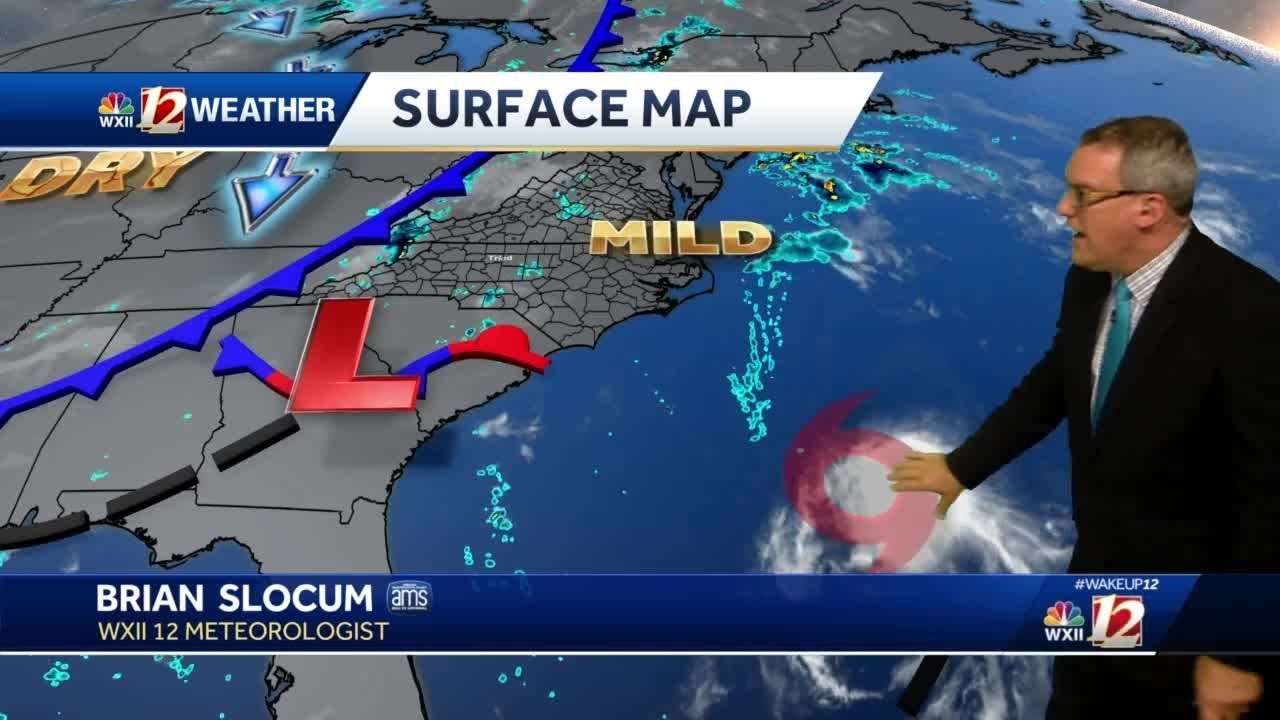 WATCH: Muggy Wednesday storm chance, 2 tropical storms