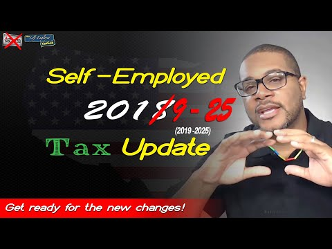 2018 Tax Update for The Self Employed | A Brief Digestible S