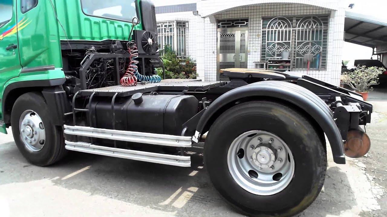 YEN TA 720 M8 Used Fuso Tractor Head Y 2002 Engine