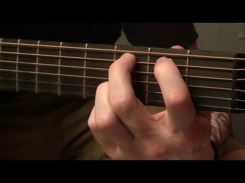 How to Play - Into Dust by Mazzy Star - Guitar Tutorial
