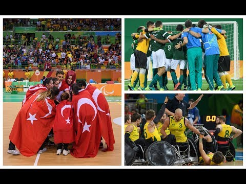 2017 Paralympic Sport Awards: Best Team nominees