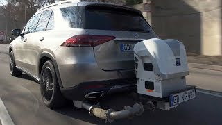 Real World Emissions Testing, New Generation Mercedes-Benz Diesel Engines Euro 6d-TEMP