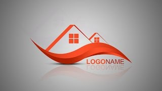 Photoshop Tutorial | Logo Design | House Builder
