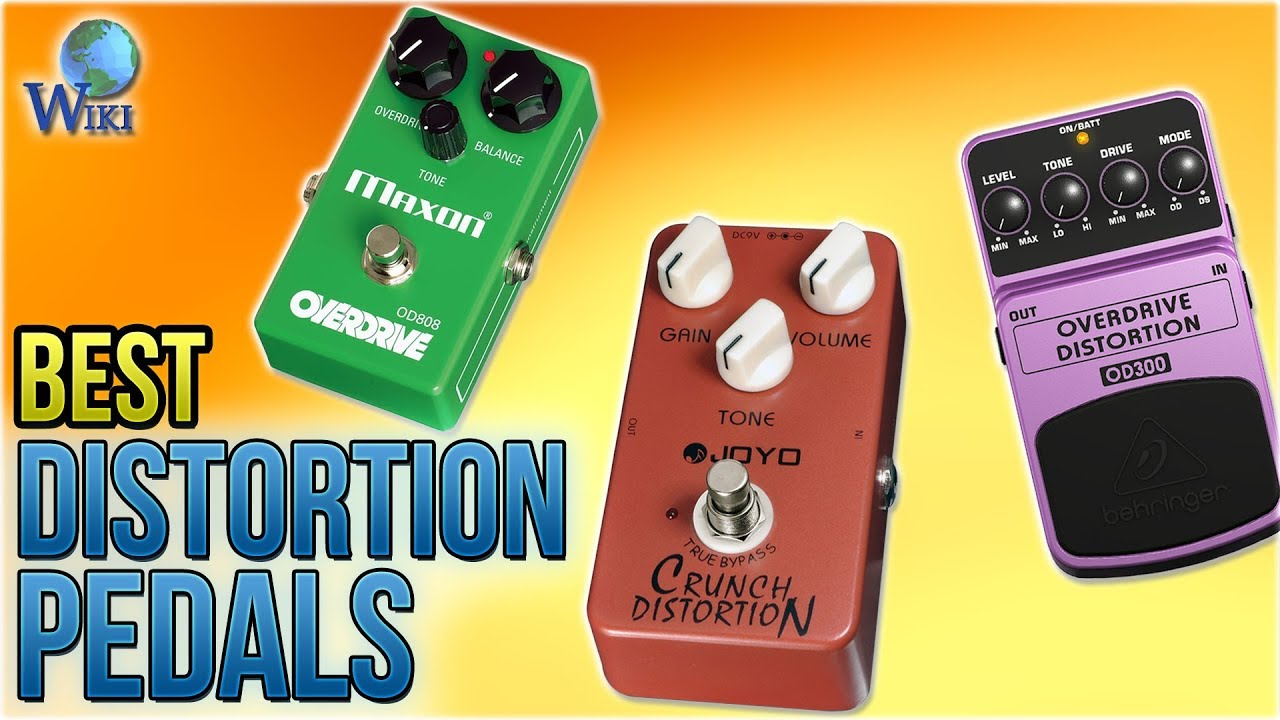 10 best distortion pedals 2018 youtube