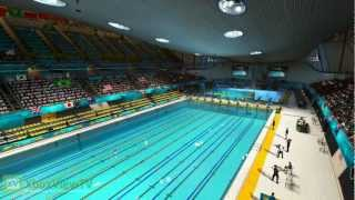 "London 2012: The Official Video Game - ""Acquatic Centre"" Fly-Through Trailer (FULL HD)"