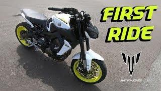 Yamaha MT-09 2017 First Ride! | Arrow Exhaust (Norsk Motovlog) thumbnail