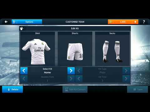 How To Make Persib Bandung Team Kits & Logo 2019/2020 | Dream League Soccer 2019.