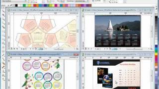Уроки CorelDRAW: уникальный календарь на 2012 год