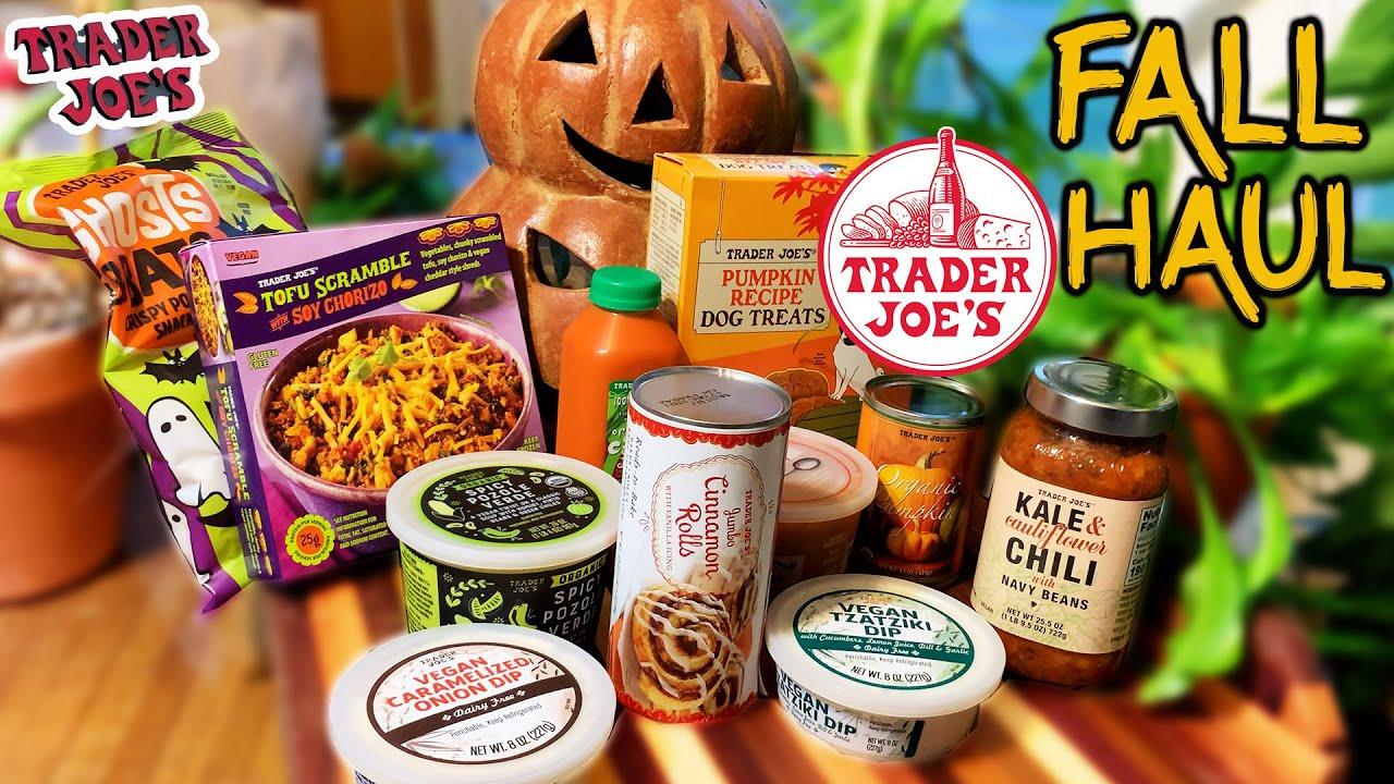 Trader Joe's Fall Haul (VEGAN)