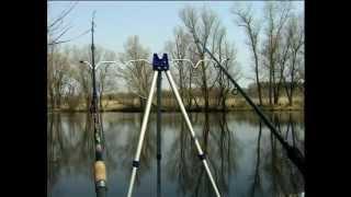 Ловля на Фидерную Снасть на течении весной: снасти и техника.