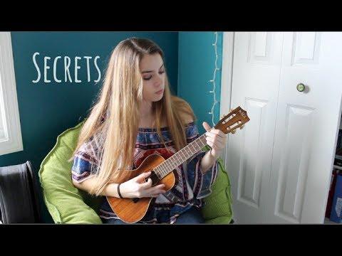Secrets One Republic Ukulele Cover Youtube