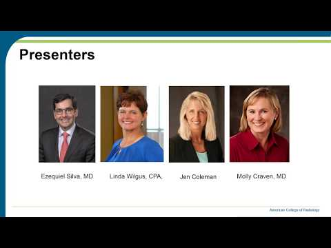 """ACR-RBMA """"Medicare AUC Mandate – Countdown To Launch!"""" Webinar"""