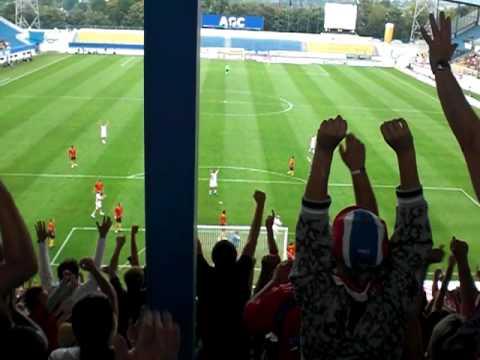 Tschechien - Belgien  3:1 David Rozehnal 12.08.09 Teplice