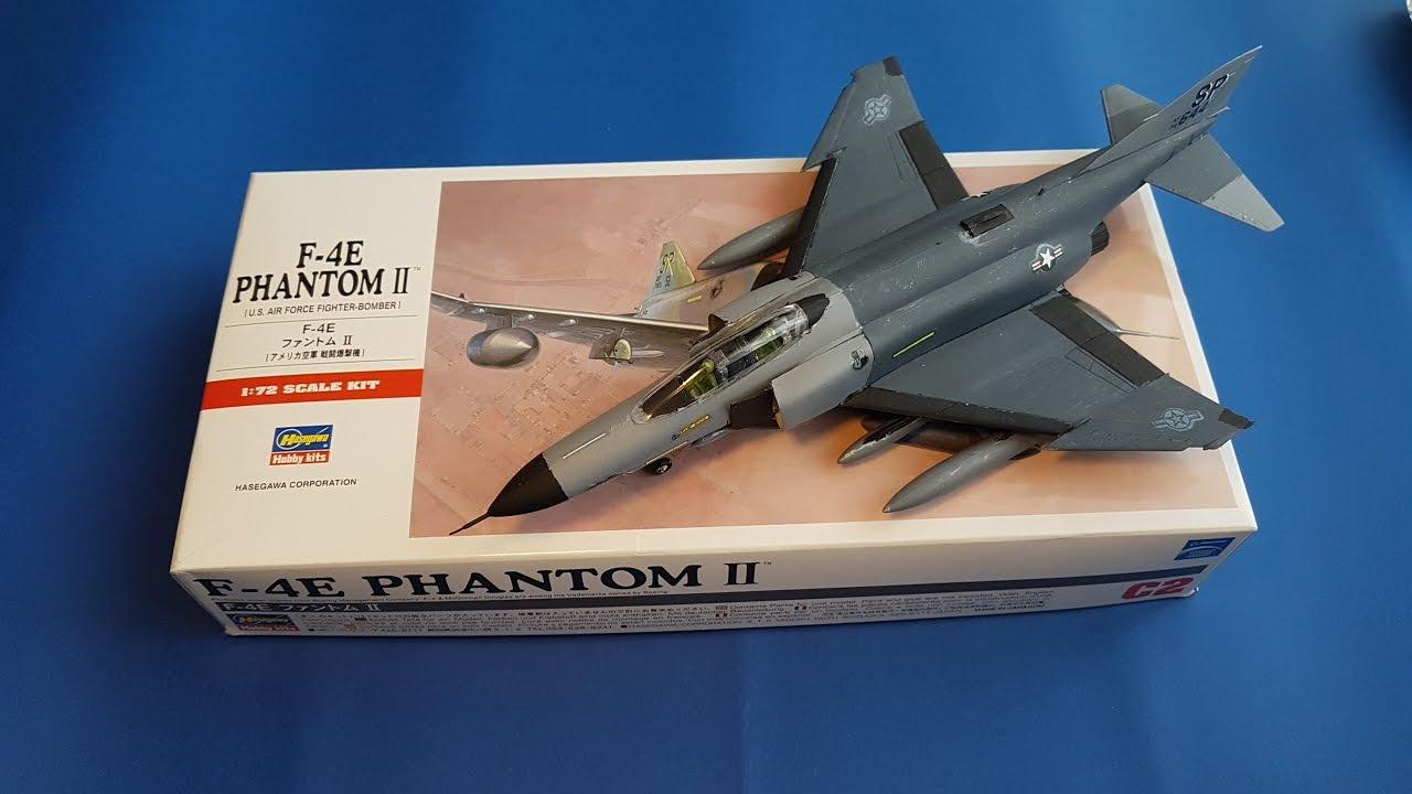 F 4e Phantom Plastik Model Uçak Yapımı Youtube