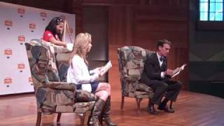 Emily Osment & Bill Nye the Science Guy read