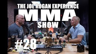 JRE MMA Show 28 with Georges St Pierre