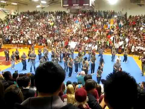 Elgin High School Flash Mob