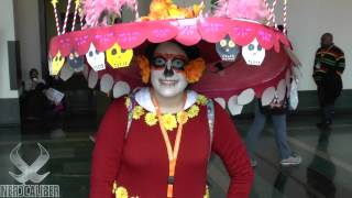 LA MUERTE! The Book Of Life Cosplay at Anime Boston 2015